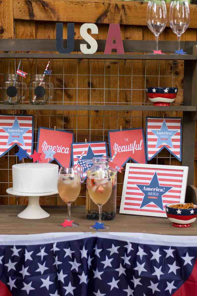 4th of July Printable Decor