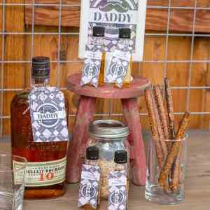 Dashing Daddy Drinks Set