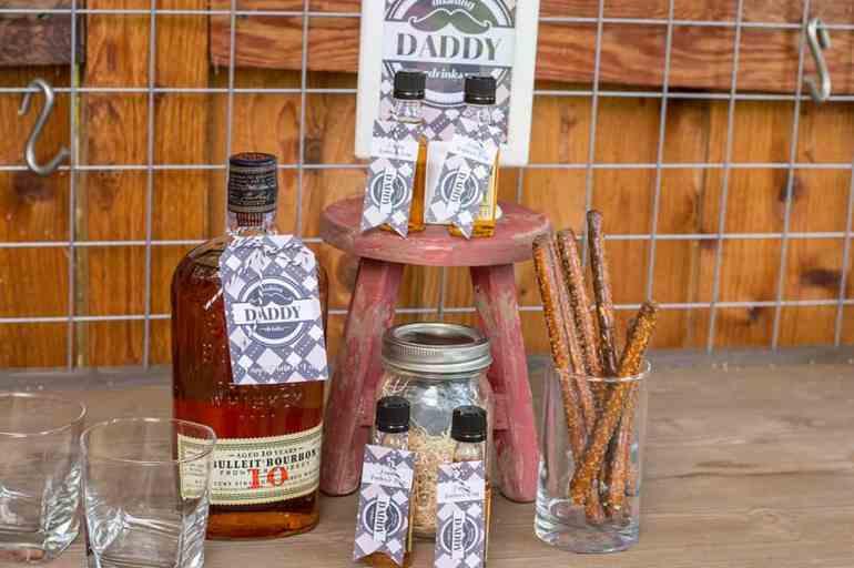 Dashing Daddy Drinks Set