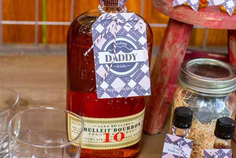 Dashing Daddy Drinks Tag