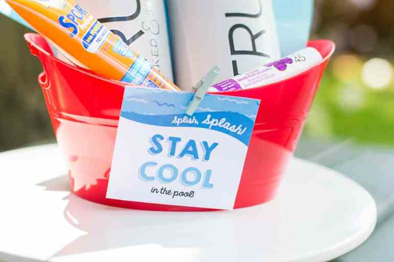 Stay Cool in the Pool Tag