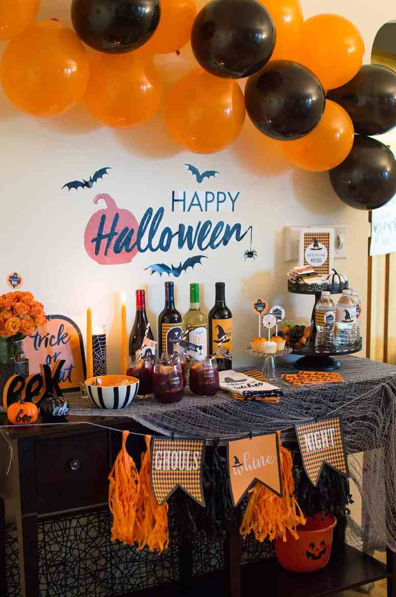Ghouls Night Halloween Party by Elva M Design Studio