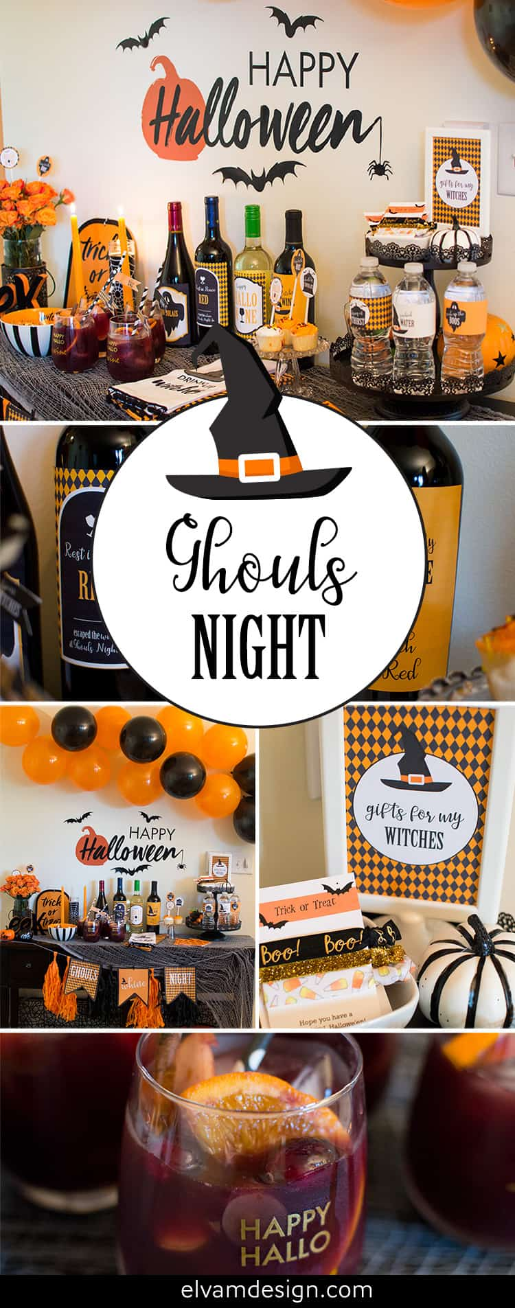 Check out this Ghouls Night Halloween Party by Elva M Design Studio.