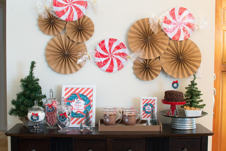 Holiday Hot Cocoa Bar Styled by Elva M Design Studio