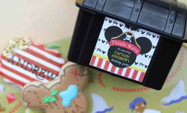 Mickey Mouse Pirate Party styled by AK Party Studio with Printables from Elva M Design Studio
