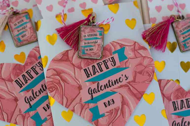 DIY Galentine's Day Charms by Elva M Design Studio
