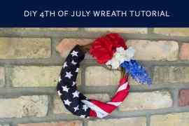 DIY Wreath Tutorial from Elva M Design Studio