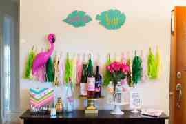 Flocktails and Friendship: Mom's Night Out styled by Elva M Design Studio