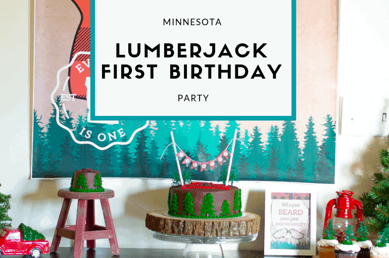 Minnesota Lumberjack Birthday Party