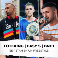 Tote King, Easy-S y Bnet se retan en el freestyle