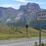 En el Aubisque veréis bicicletas gigantes