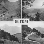 Una marmota entre ciclistas por los Pirineos