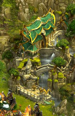 Martial Monastery Cliffside 1