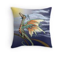Pseudodragon Throw Pillow