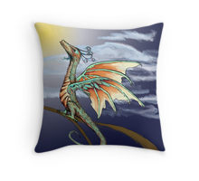 Pseudodragon Throw Pillow
