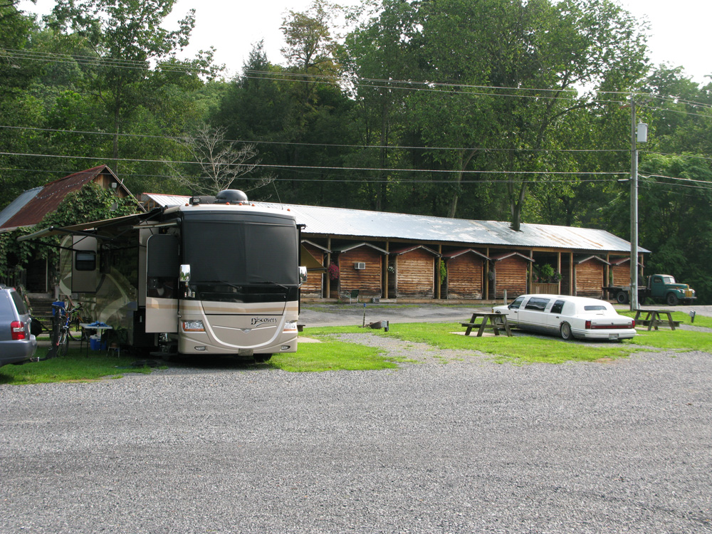 the campground...  limo RV?