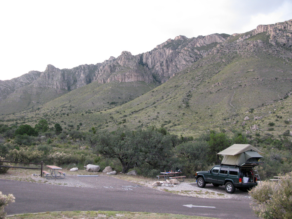 We had the beautiful campground all to ourselves.