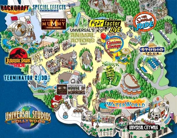 mapa-atracoes-universal-estudios-hollywood-california