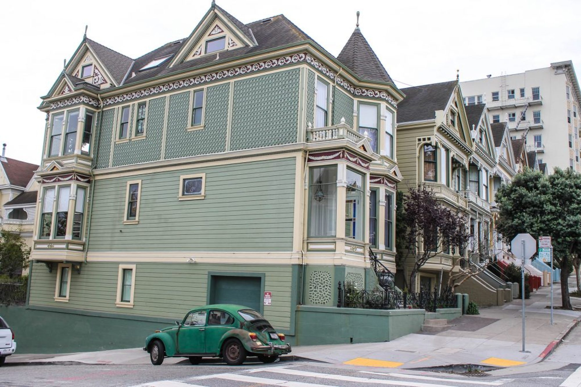 Painted Ladies - Alamo Square-11