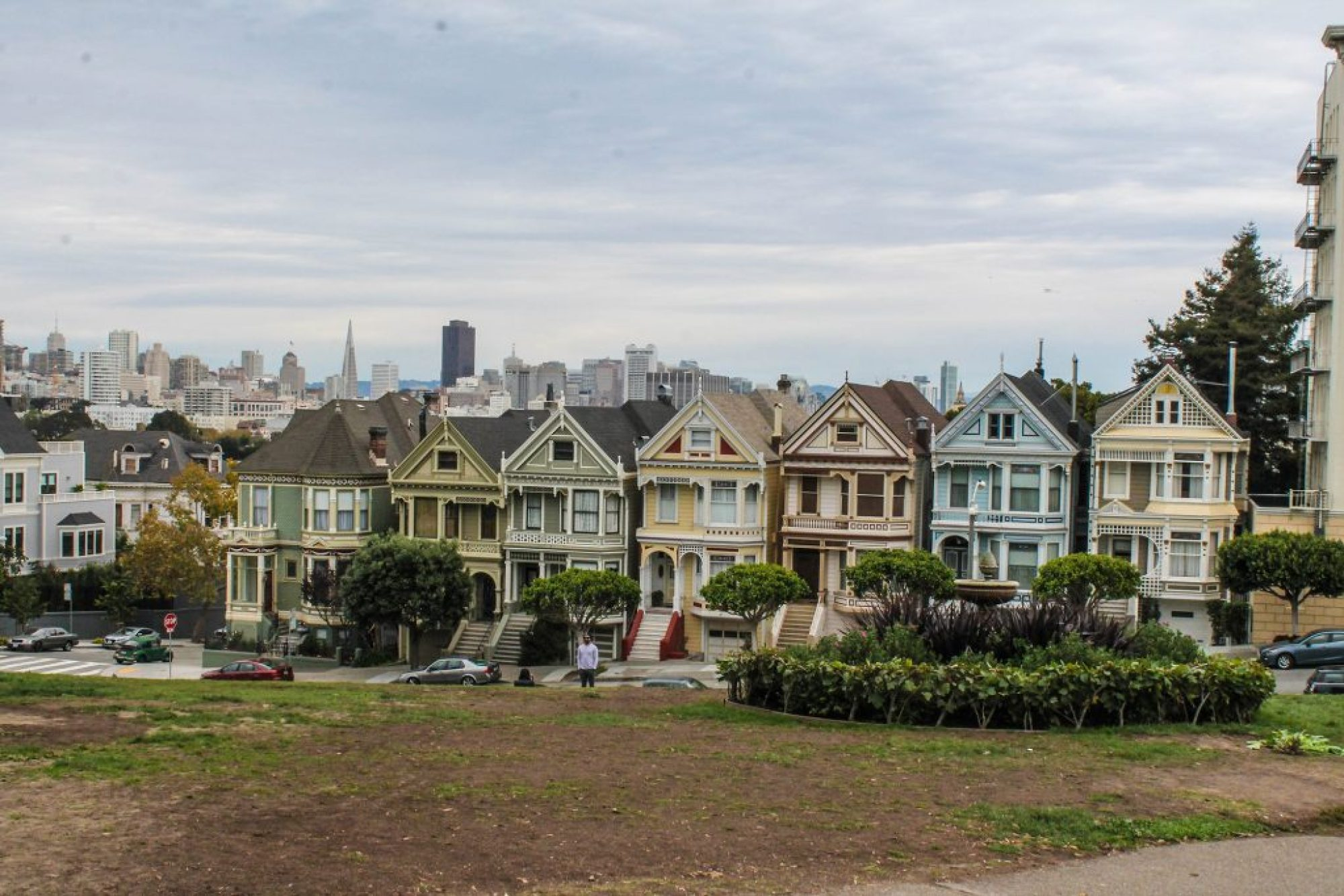 Painted Ladies - Alamo Square-7