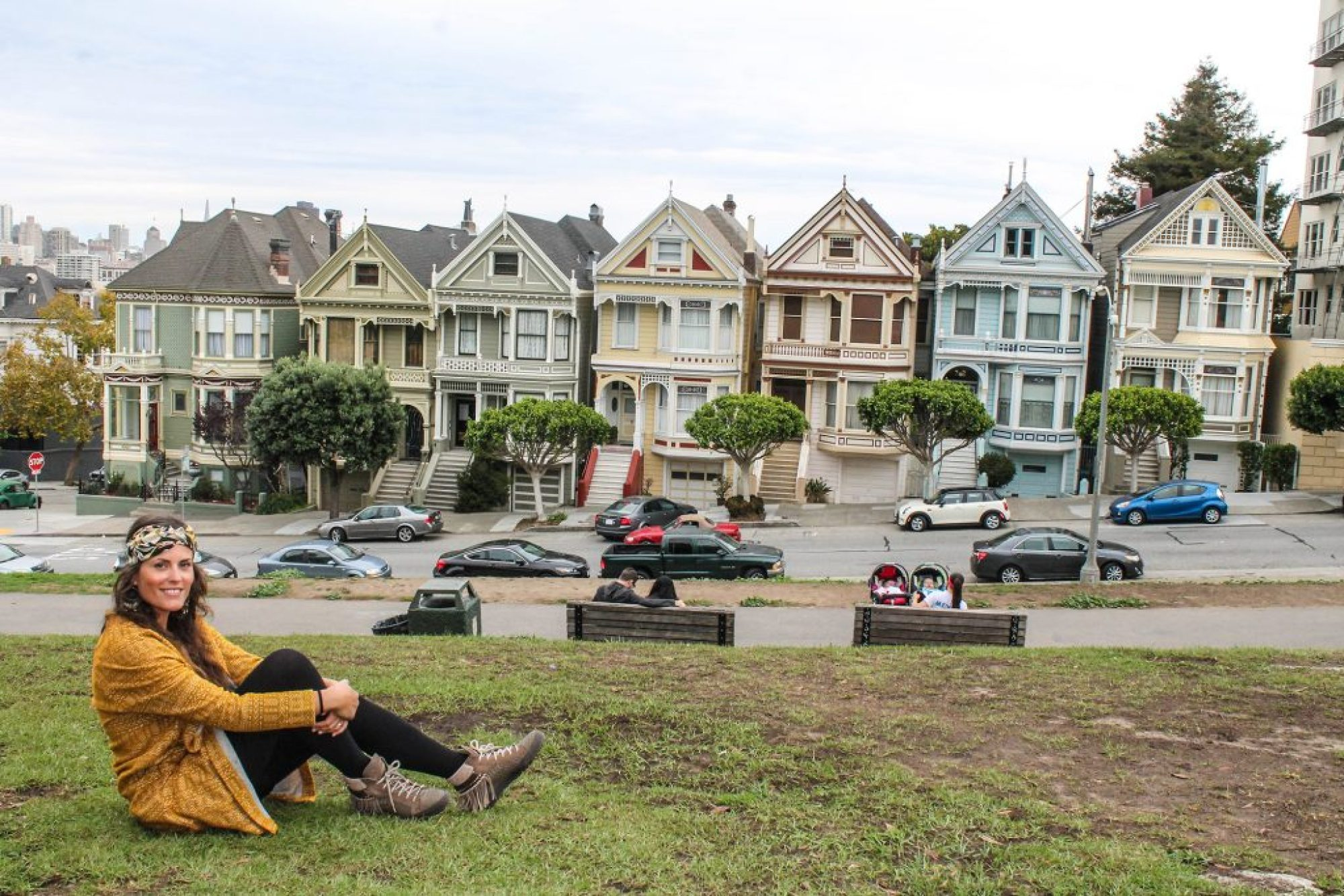 Painted Ladies - Alamo Square-9