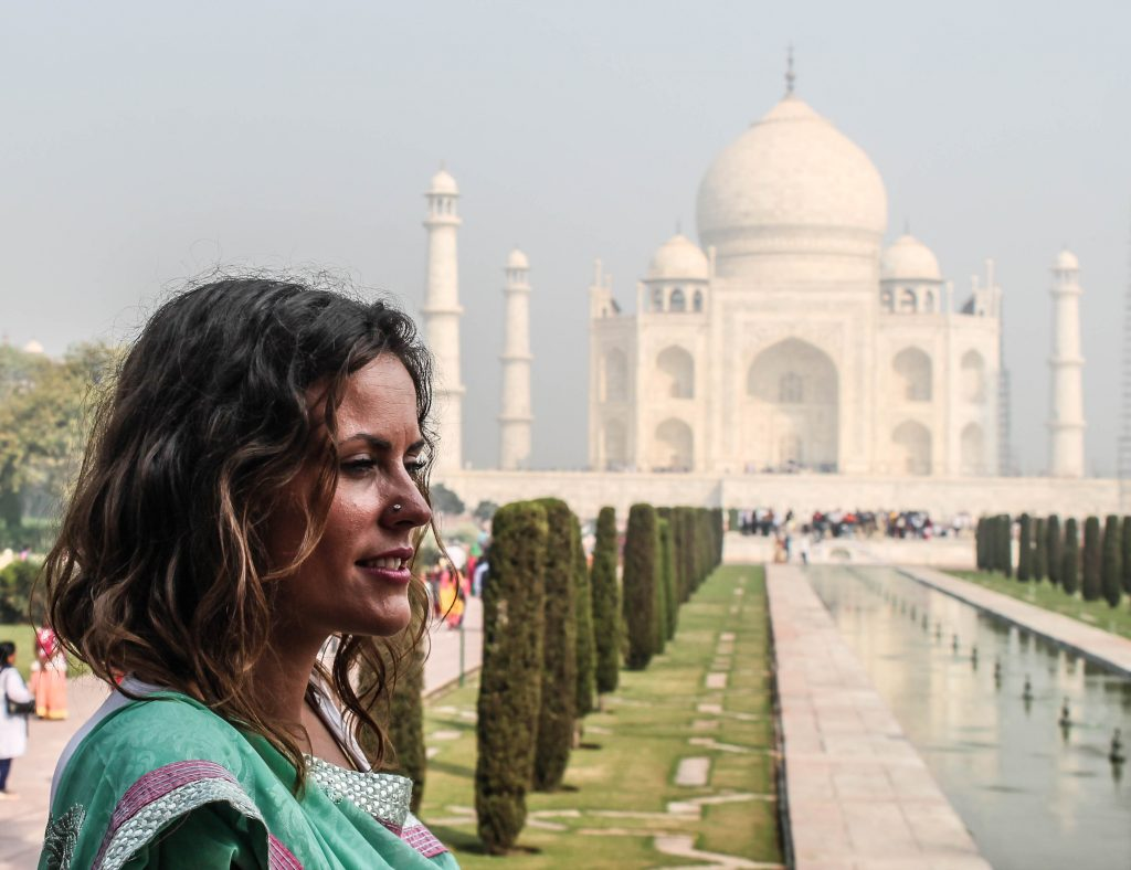 India me ha hecho sentir viva