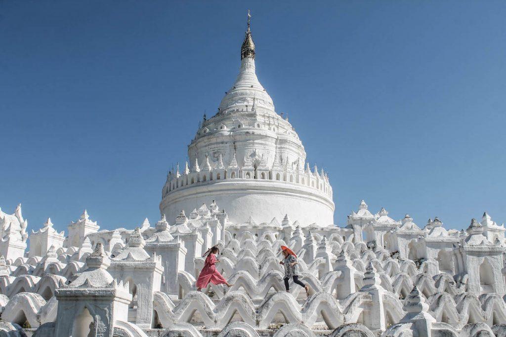 Mis pies descalzos en Myanmar