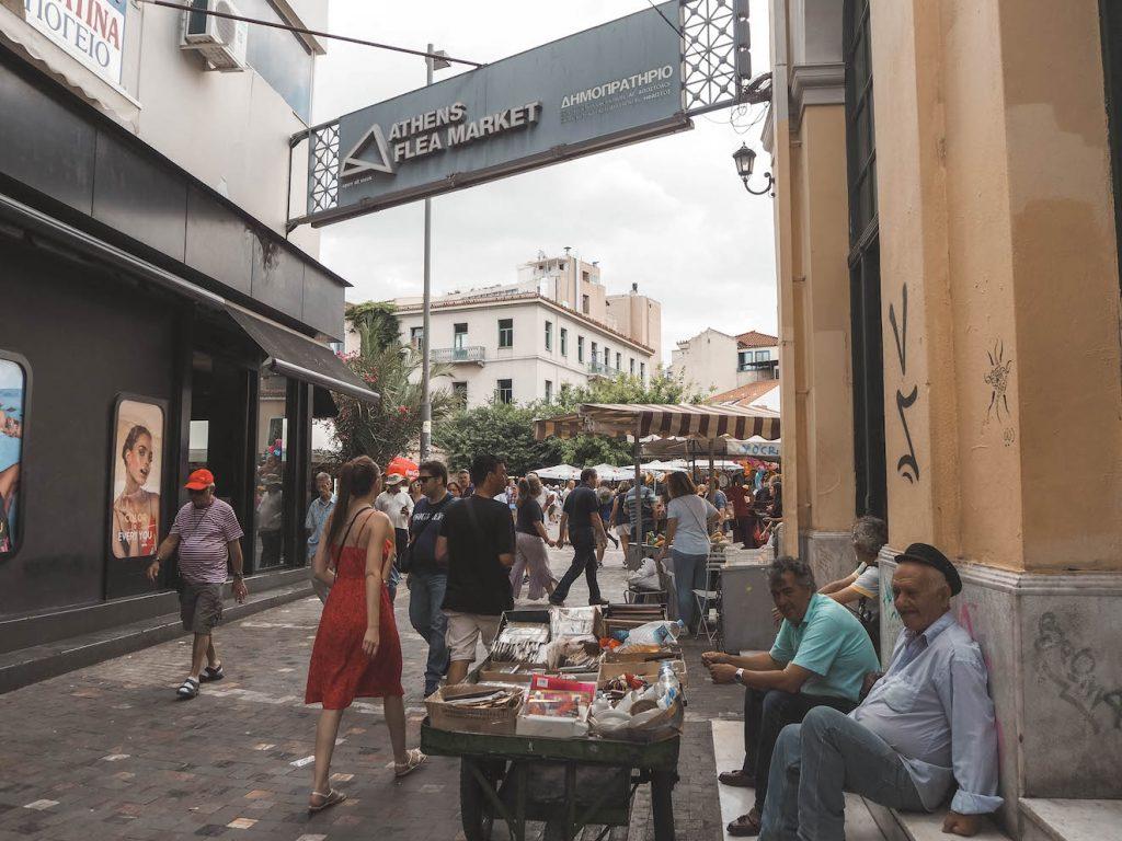 Atenas Flea market