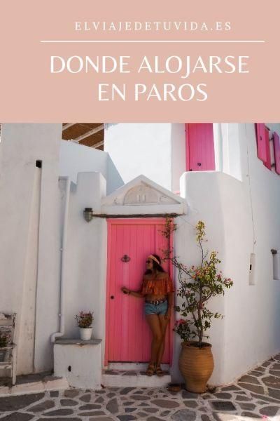 Donde alojarse en Paros