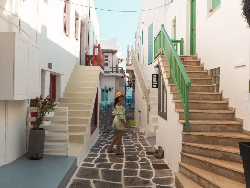 Naoussa en Paros
