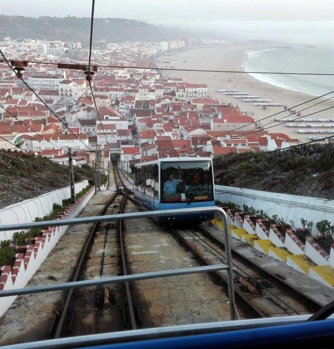 funicular_nazare_portugal_elviajenotermina_blog de viajes