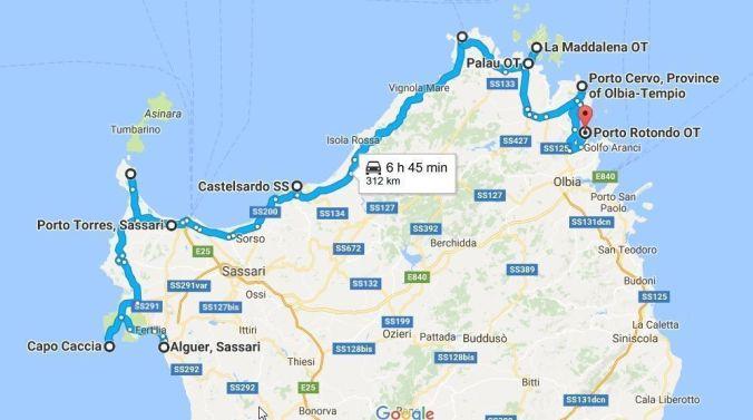 ruta_norte_ cerdeña_italia_elviajenotermina_blog viajes