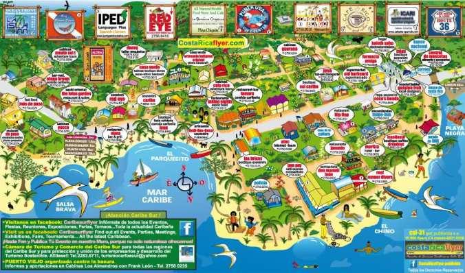 mapa puerto viejo_costa rica_blog viajes_el viaje no termina