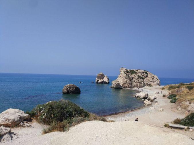 Roca Afrodita - Chipre - El Viaje No Termina