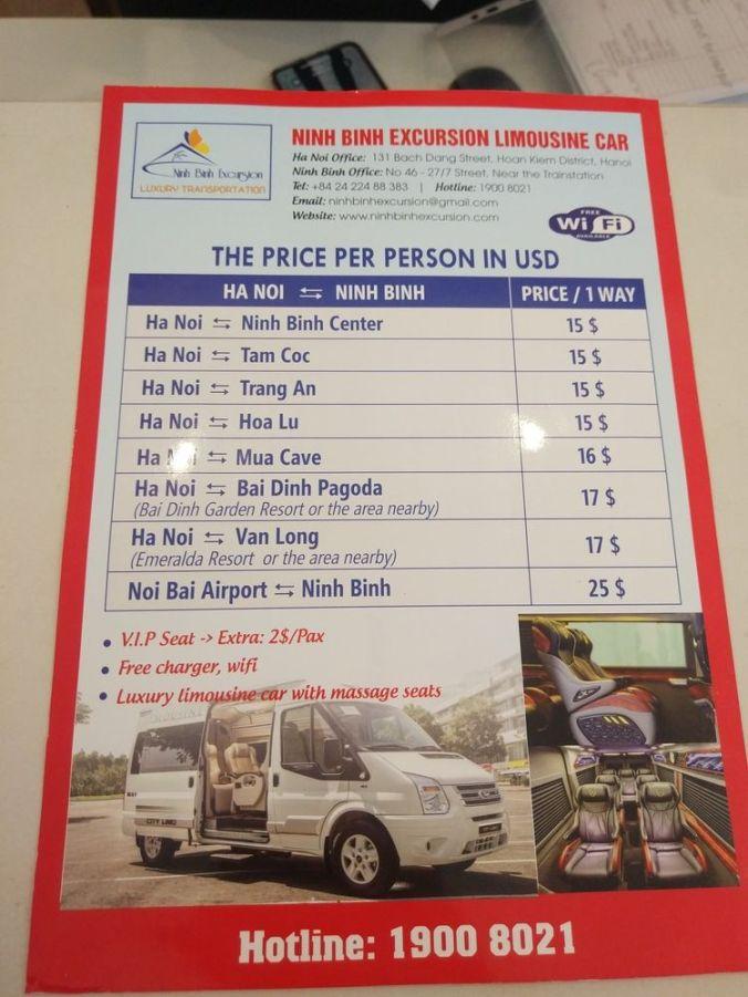Informacion transportes Vietnam - El Viaje No Termina