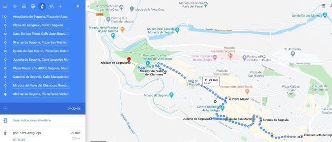 Ruta por Segovia - El Viaje No Termina