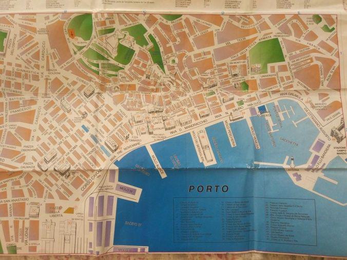 Plano Trieste - Italia - El Viaje No Termina