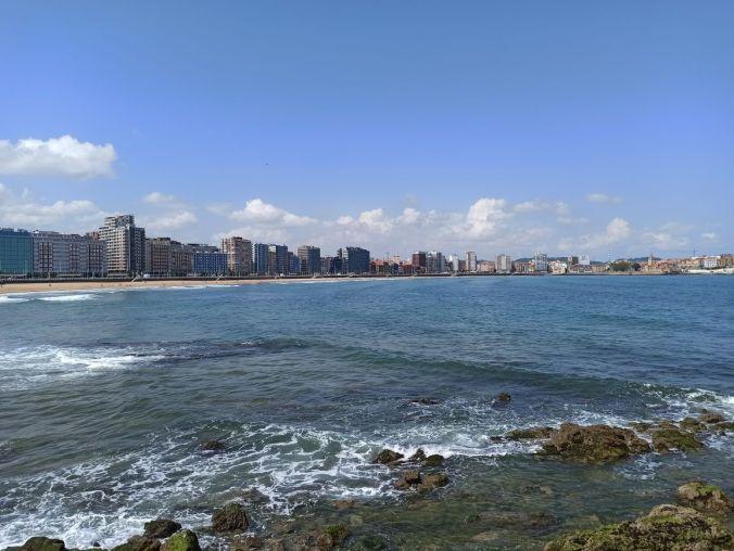 Playa San Lorenzo - Gijon - Asturias - El Viaje No Termina