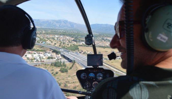 vuelo helicoptero mallorca