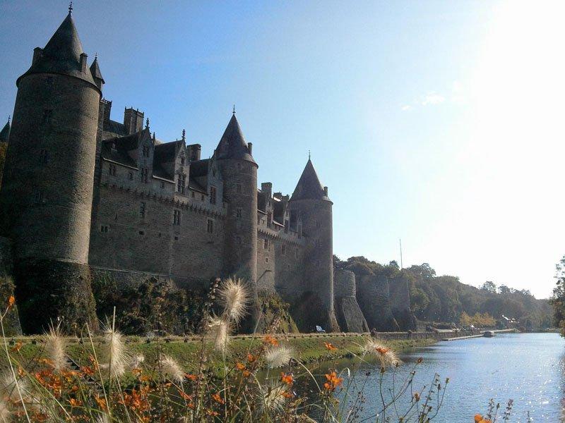 Castillo de Josselin en Bretaña