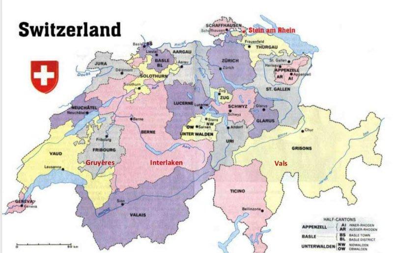 ¡Suiza... por fin!