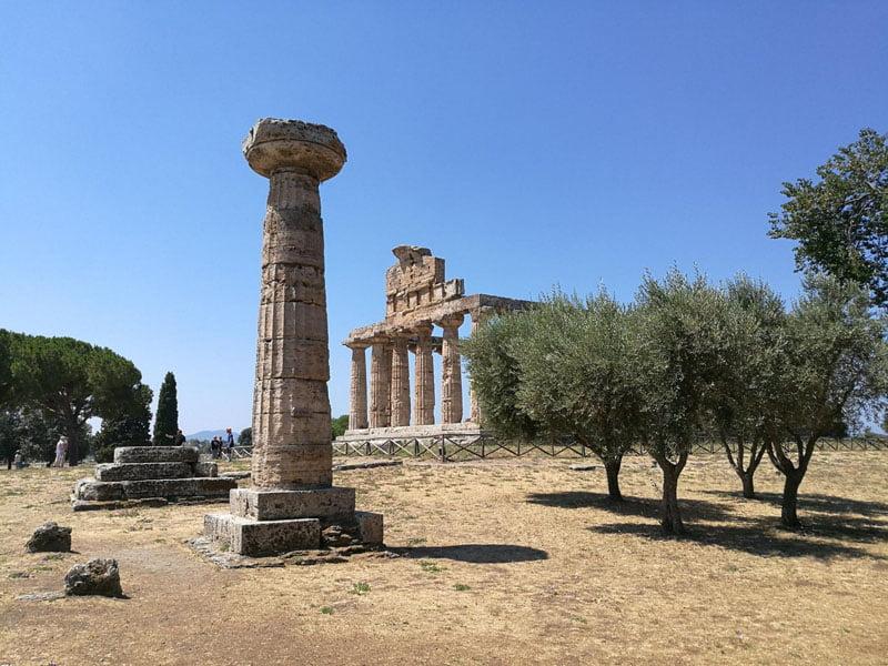 En el templo de Ceres