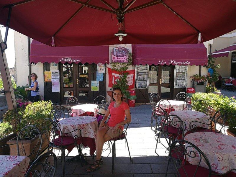 Restaurante en lugar del Poste Italiane