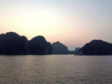 Halong Bay en Vietnam