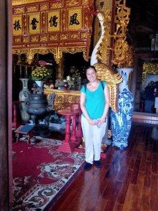 En la pagoda But Thap en Vietnam
