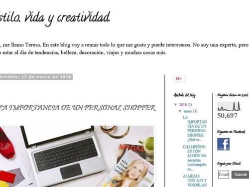 """El blog de Teresa Avalos: """"Estilo, vida y creatividad"""". ¿Nos ponemos guapos para seguir viajando?"""