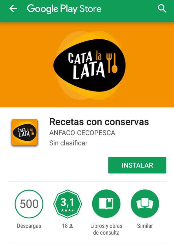App Cata la lata
