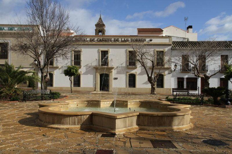 Plaza de España de Cañete de las Torres