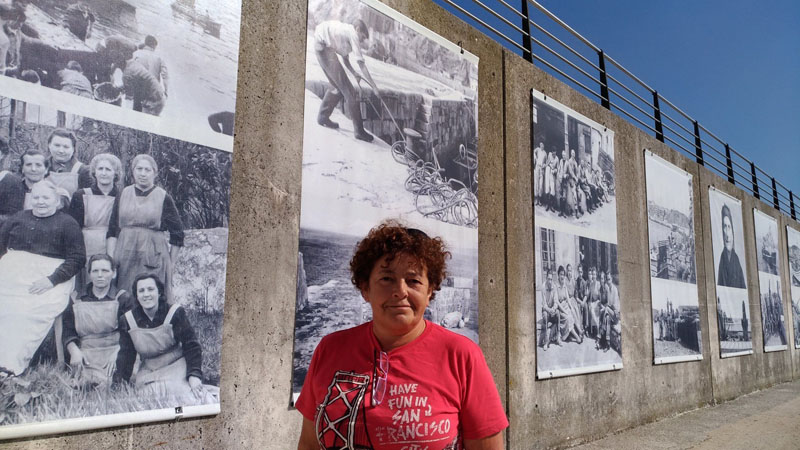 Carmen del Río en Candás