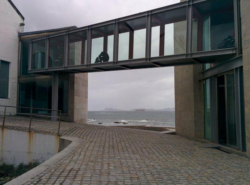 En el Museo del Mar de Vigo